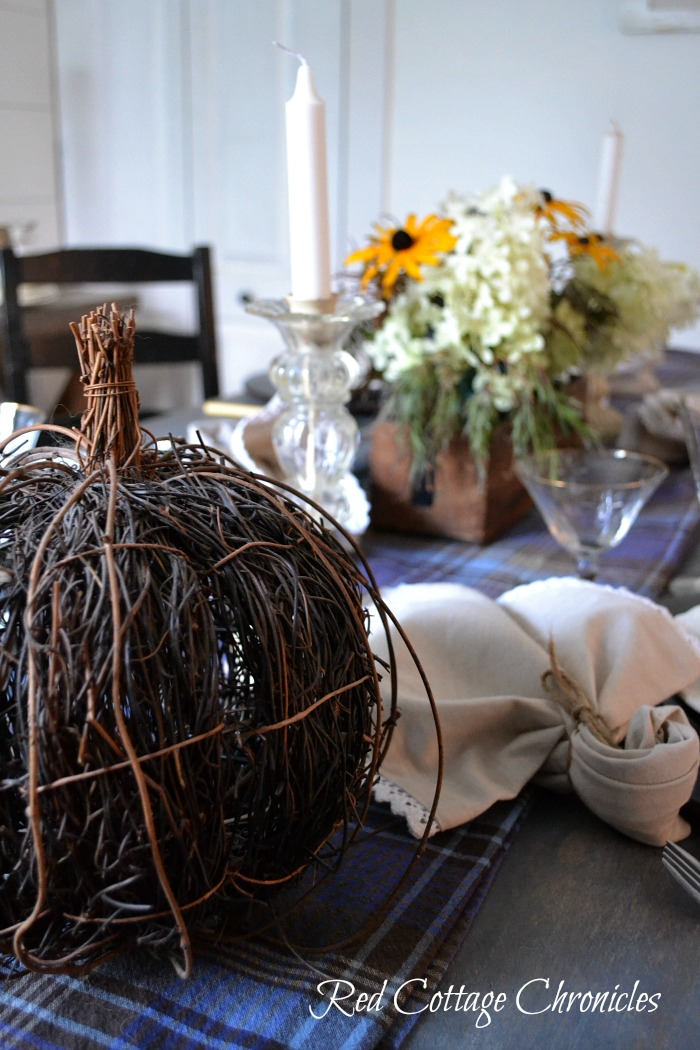 Ideas for your autumn tablescape