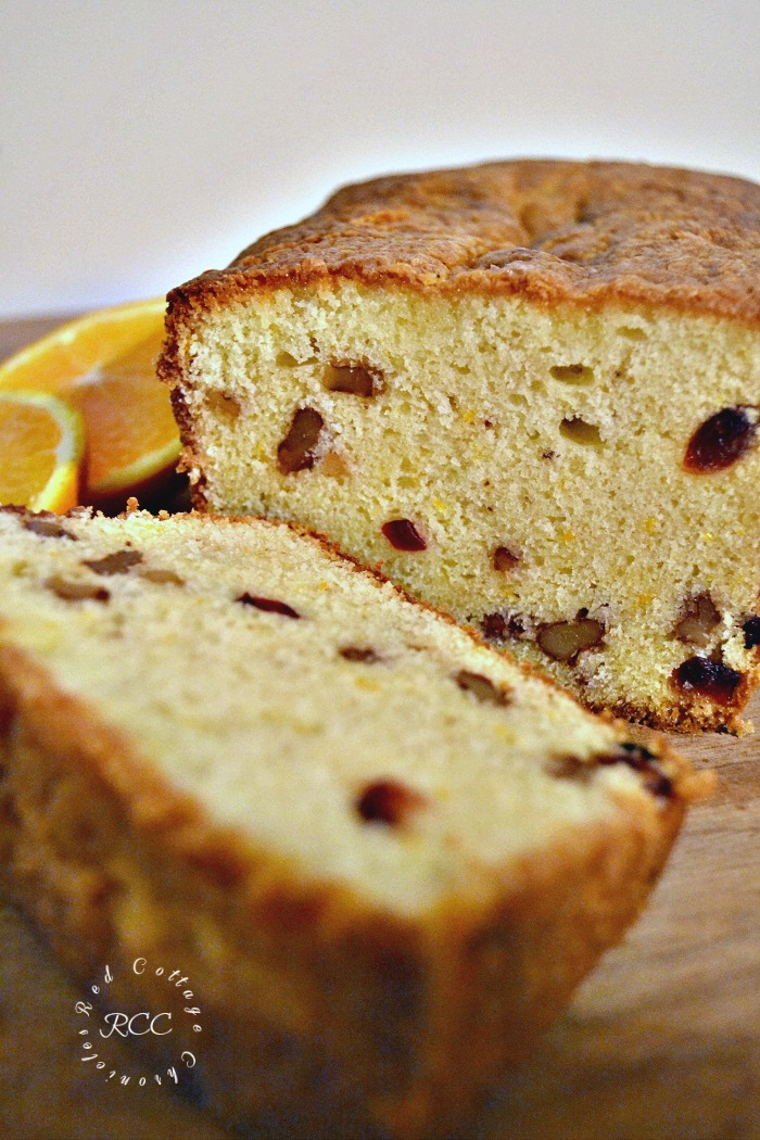 Edible Gifts Cranberry Orange Walnut Loaf
