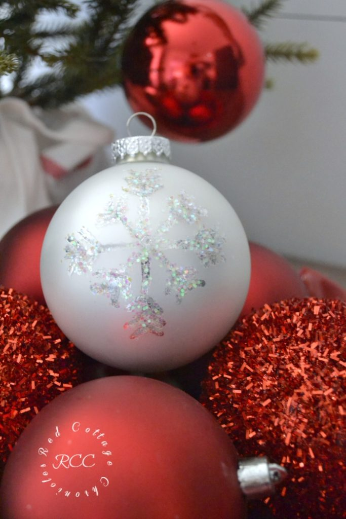 DIY snowflake ornament tutorial