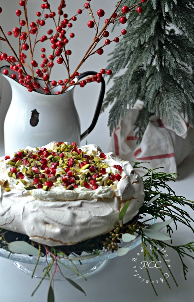 Christmas Movie Blog Hop - White Chocolate Pavlova