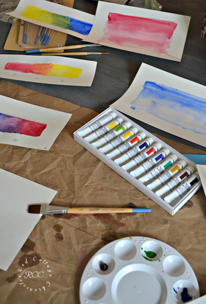 Learn to Paint with Watercolors