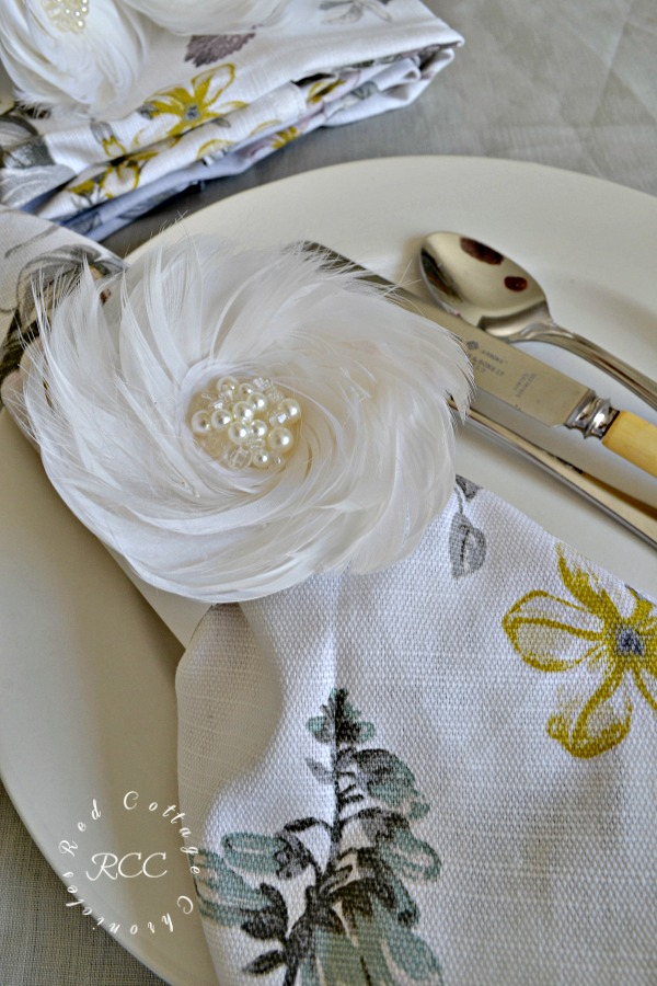 easy DIY napkin rings