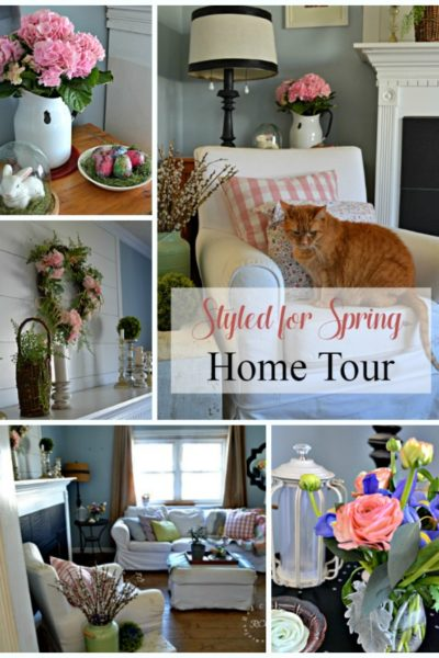 Red Cottage Spring Home Tour