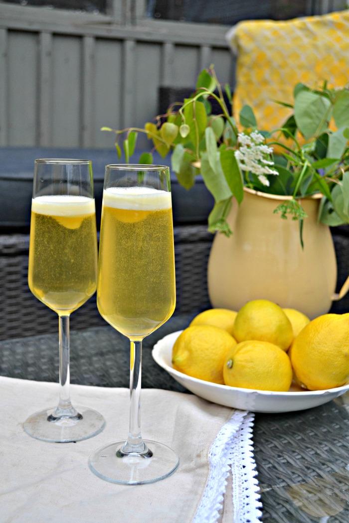 Lemon Cocktail Italian Sgroppino