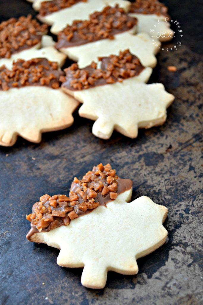 Skor Shortbread cookies