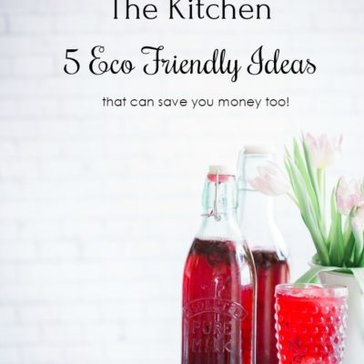 Going Green in the Kitchen – 5 Eco Friendly Ideas