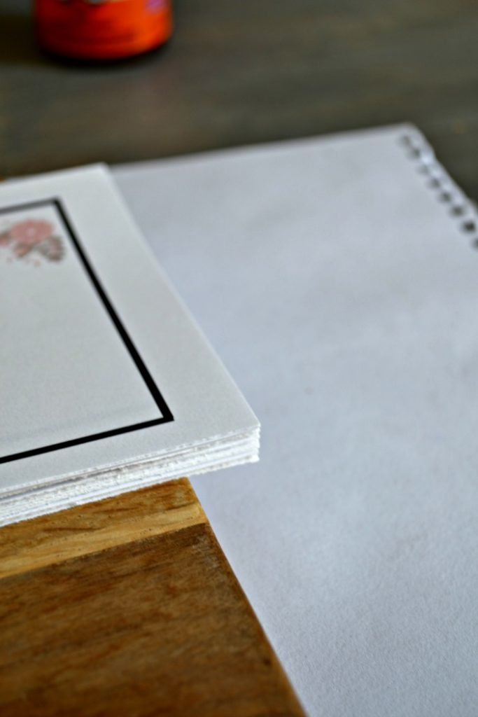 Tear off DIY Notepad