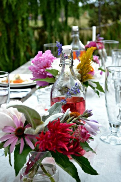 alfresco tablescape