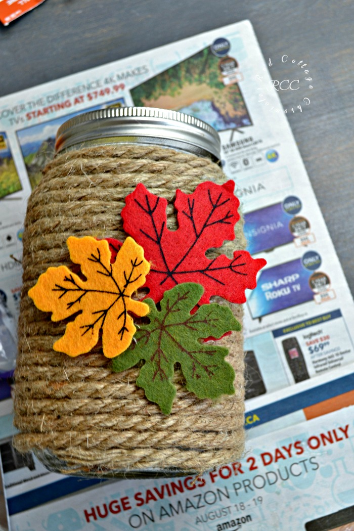 Mason jar craft ideas for fall