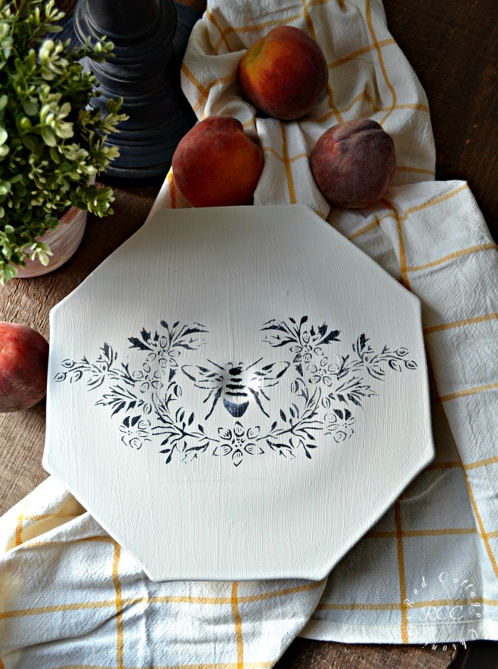 French Country Style Cake Plate