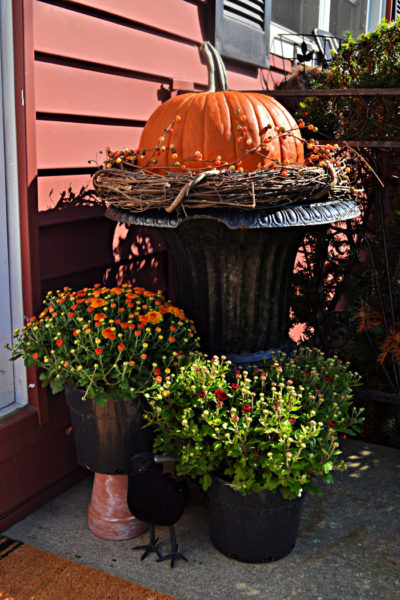 autumn porch decor