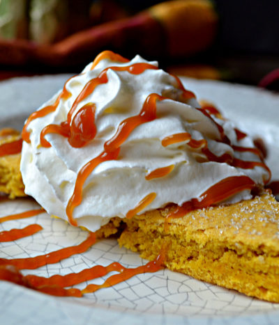 Pumpkin Shortbread