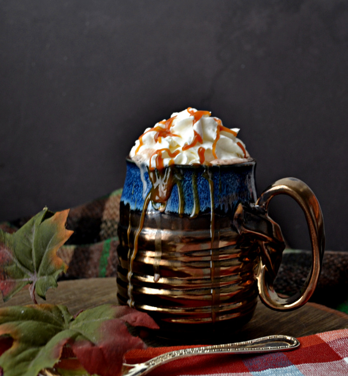 Caramel Irish Cream Hot Chocolate