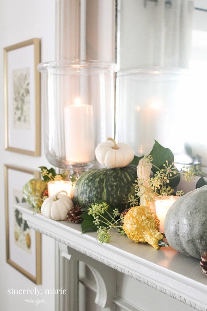 Autumn Mantel Ideas
