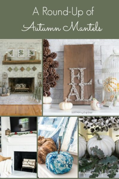 12 Gorgeous Autumn Mantels