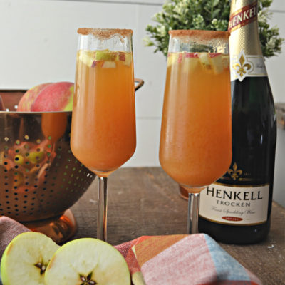 Simple Apple Cider Spritzer