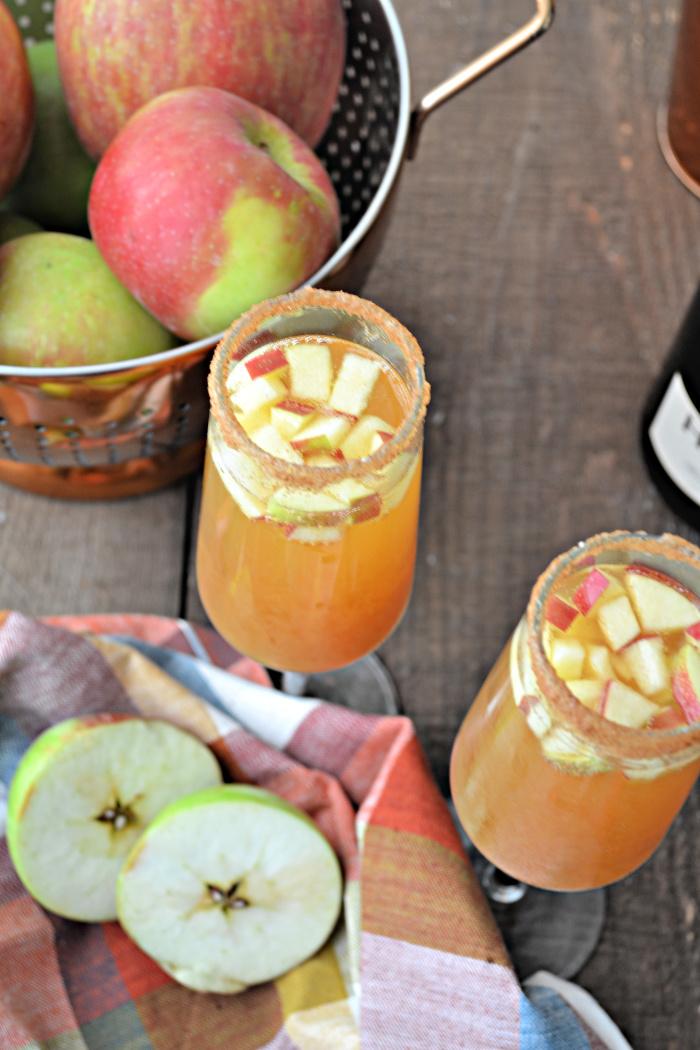 apple cider spritzer