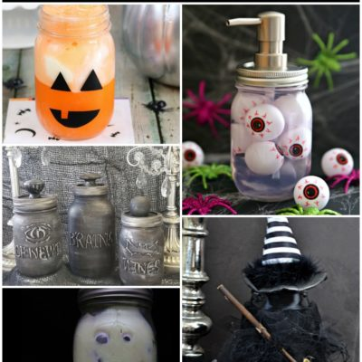 Mason Jar Crafts – Halloween Witch