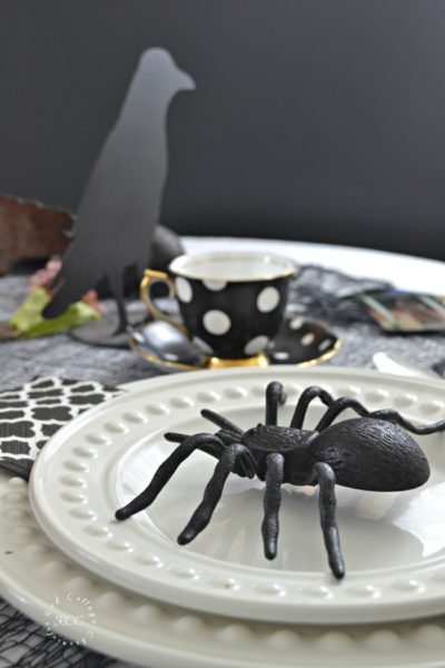 A Mystically Inspired All Hallows Eve Tablescape