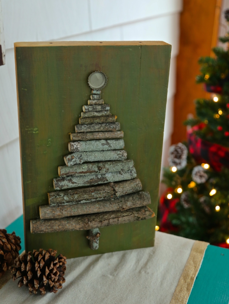11 DIY Wood Christmas Decorations
