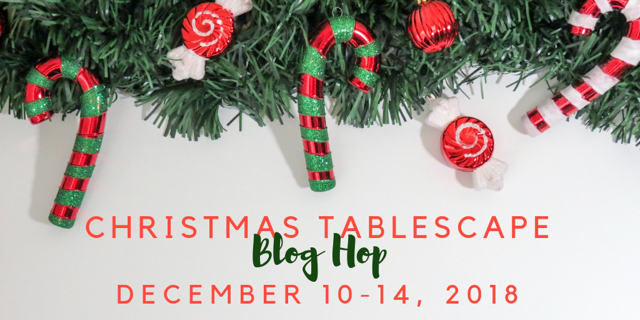 Christmas tablescape ideas 2018