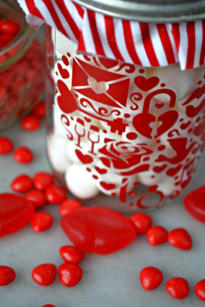 Valentine Ball Jar Ideas