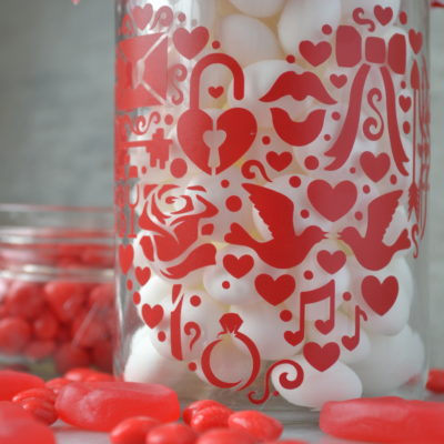 Sweet On You Valentine Treat Jar