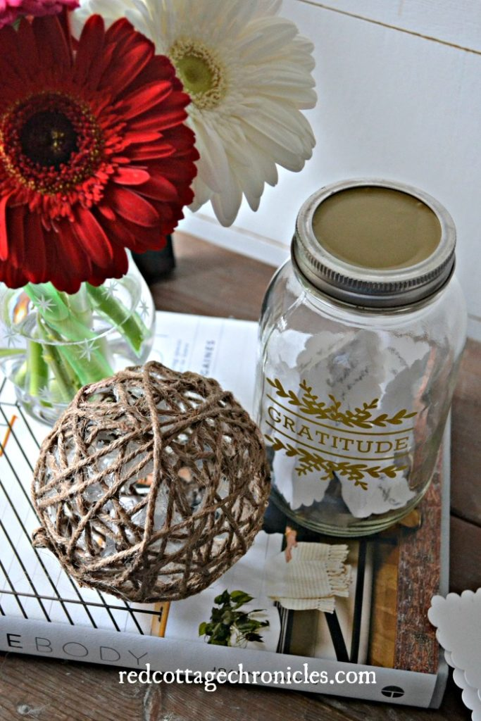 Gratitude Jar A Beginner Cricut Project