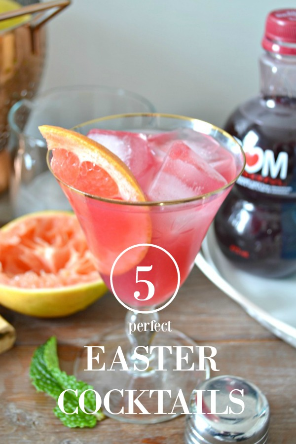 5 Perfect Spring Cocktails