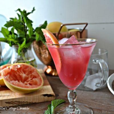 Spring Cocktails – Pink Greyhound