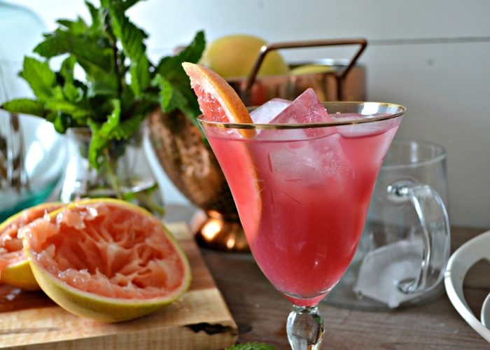Spring Cocktails – Pink Greyhound