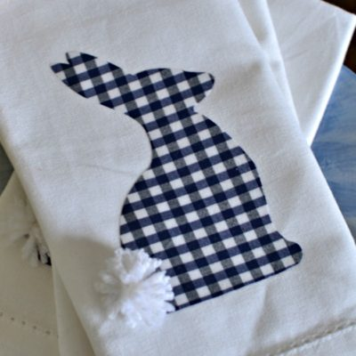 Upcycled Home Decor – Easter Napkins