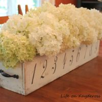Farmhouse Centerpiece – Upcycle Challenge