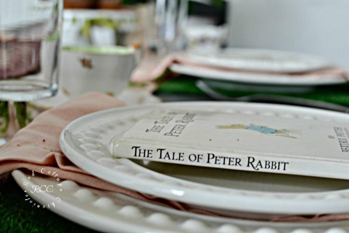 Easter Tablescapes blog hop