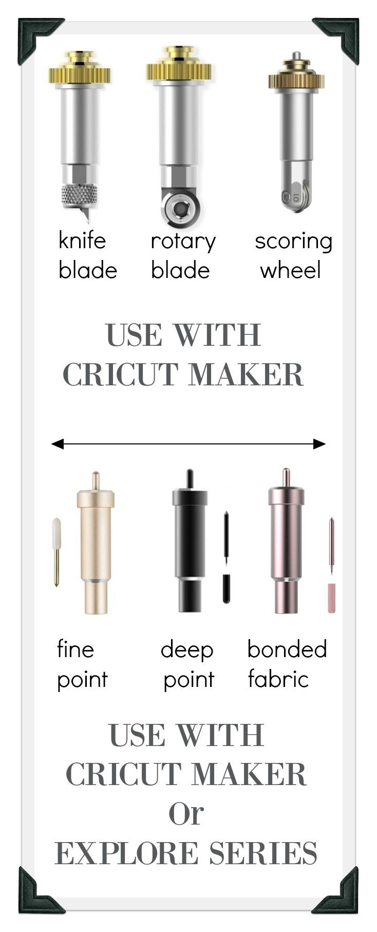 Cricut Blades Guide