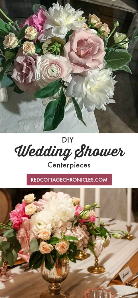 Wedding Shower Centerpieces and other decor ideas