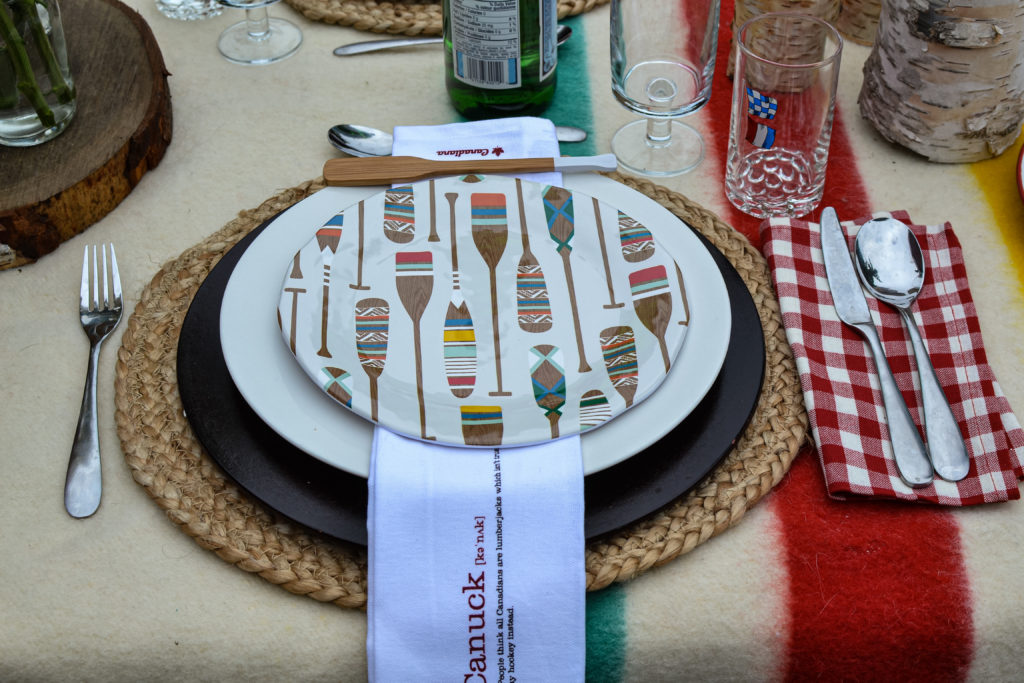 Canada Day Tablescapes