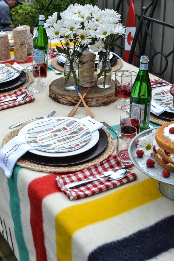 Ideas for Canada Day Tablescapes