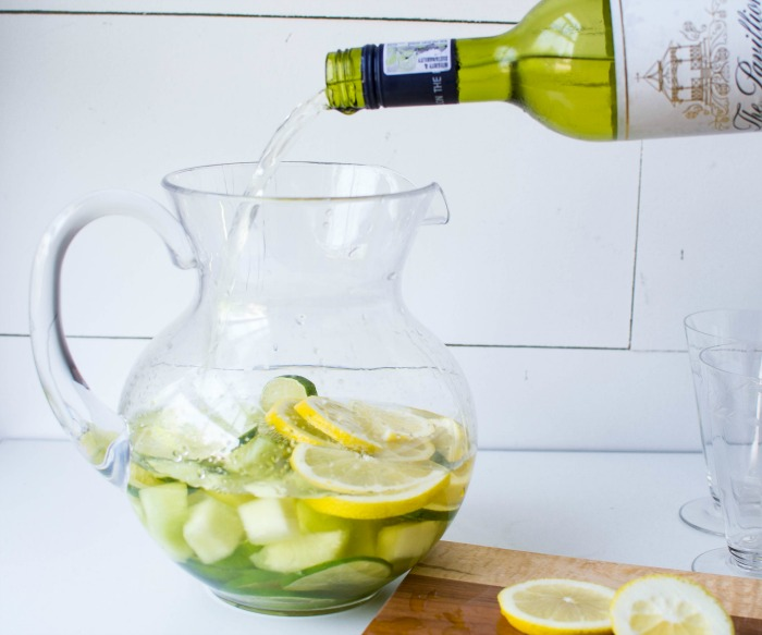 lime and melon sangria recipe