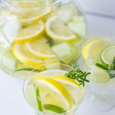 lime and melon white wine sangria recipe
