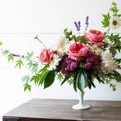 English Country Garden Arrangement