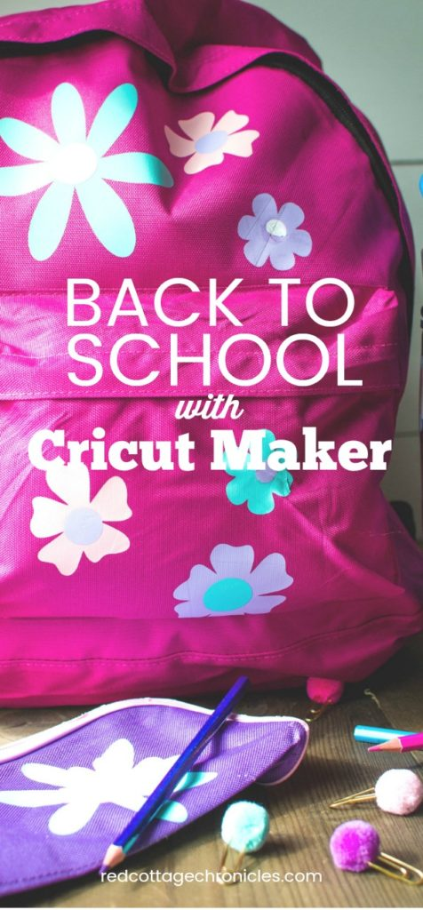 Cricut custom school supplies