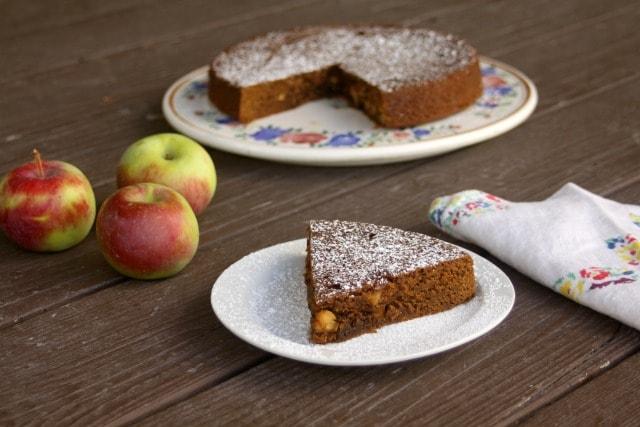 Apple Molasses Cake