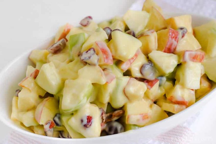 Apple Salad with Fruit