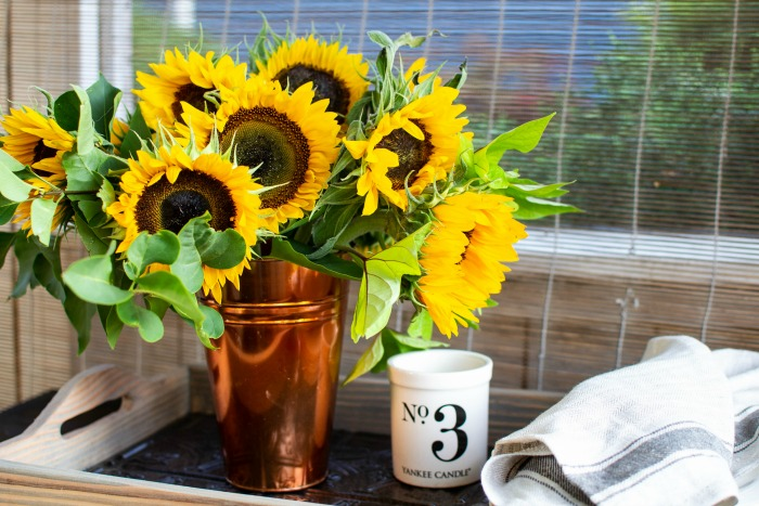 How to make sunflower arrangements