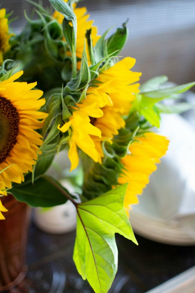 How to create stunning sunflower arrangements