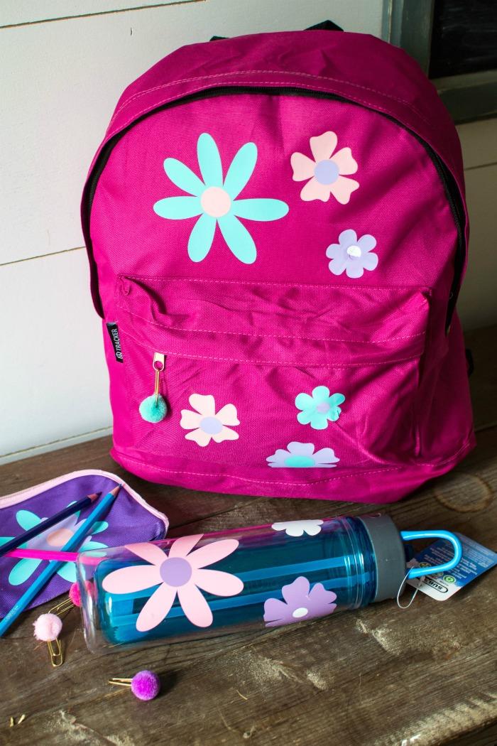 Back to School With Cricut -Custom School Supplies