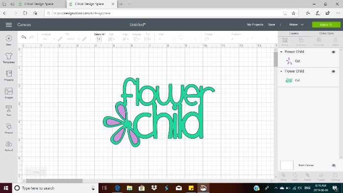 custom school supplies using Cricut design space