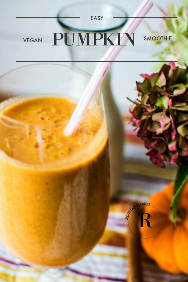 pumpkin smoothie recipe