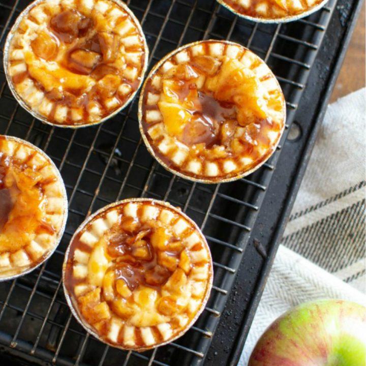 Apple CIder Cheesecake Tartlets